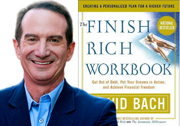 portrait book david Bach finish rich workbook