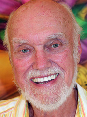 portrait Ram Dass