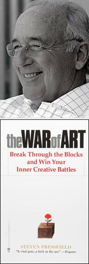 Steven Pressfield portrait book war of art