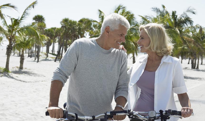 couple bikes beach tropical weil danielle lin