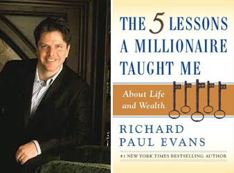 Richard Paul Evans Five Lessons Millionaire Taught Me book portrait