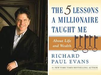 Richard Paul Evans Five Lessons Millionaire Taught Me book portrait