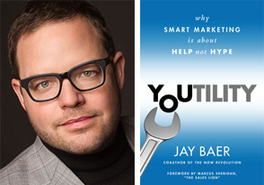 Jay Baer Youtility portrait book
