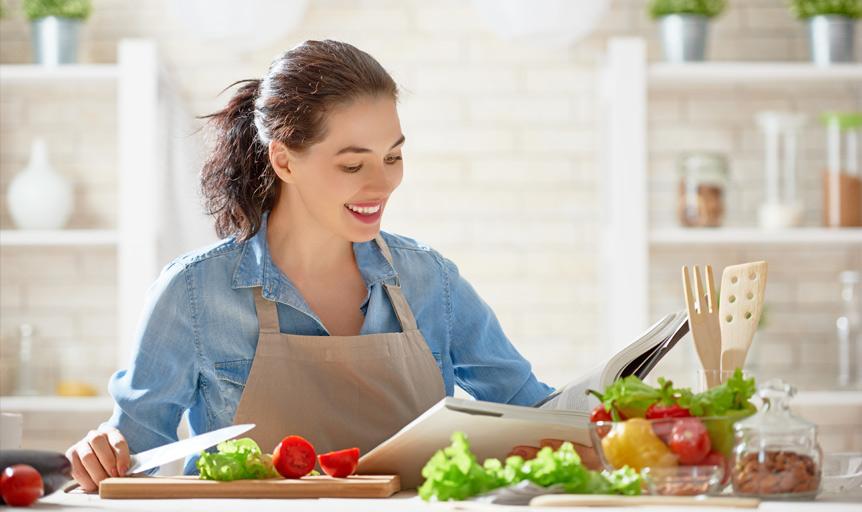 chef Sally James heart healthy recipes