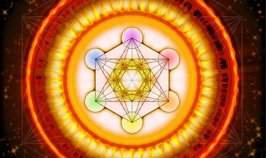 hexagon mandala know god danielle lin