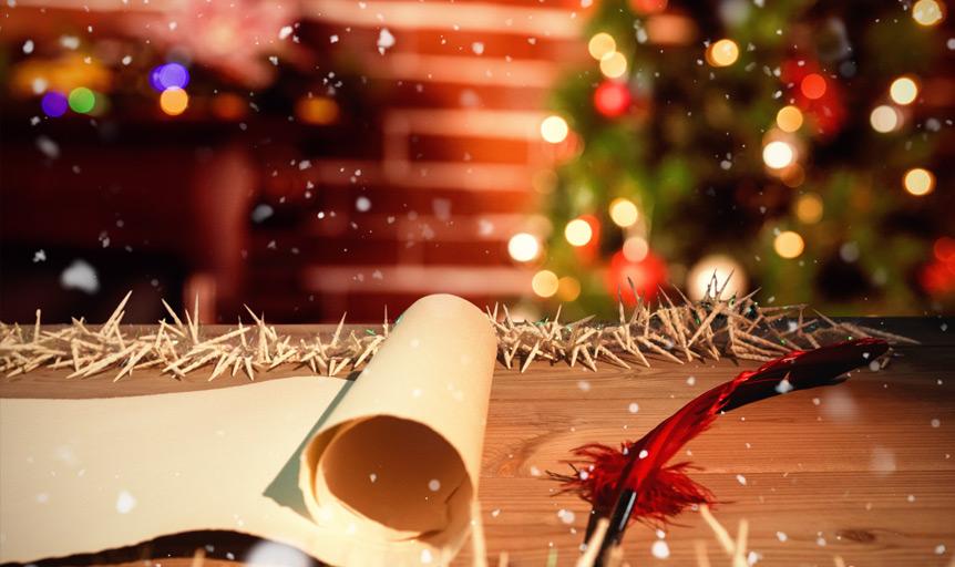 Evans Christmas box photo