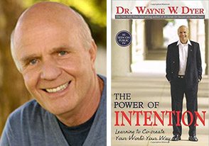 Wayne Dyer Power of Intention portrait book