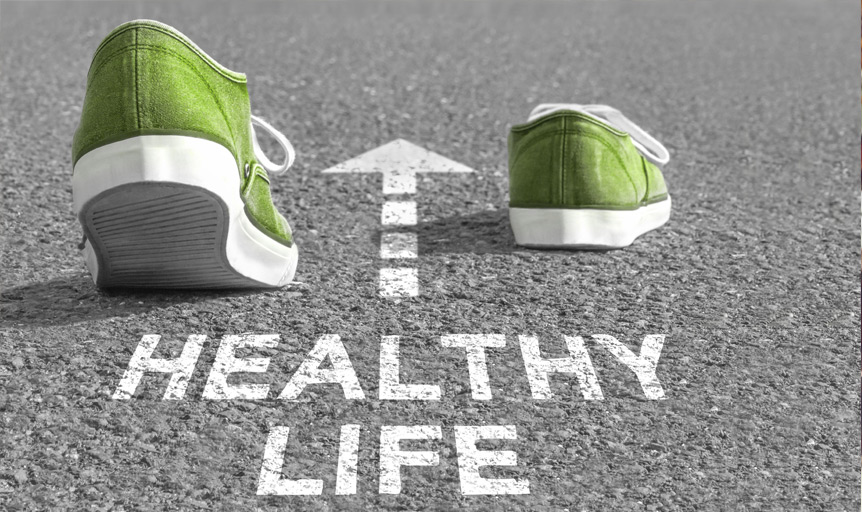 James LaValle green shoes healthy life