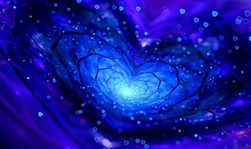 Deepak Chopra blue heart tunnel