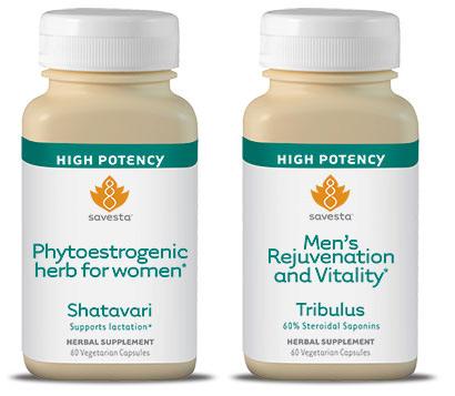 Savesta phytoestrogenic herb tribulus shatavari