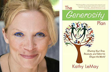 portrait book Kathy LeMay Generosity Plan