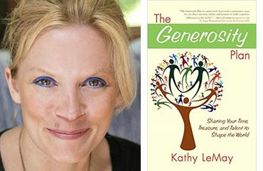 portrait book Kathy LeMay Generosity Plan