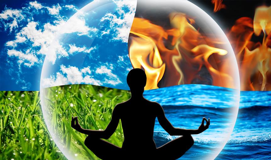 four elements yoga pose bubble ross peloton