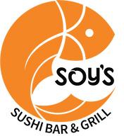 Soy's sushi logo