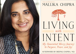 Mallika Chopra Living with Intent portrait book