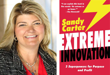portrait book Sandy Carter extreme innovation