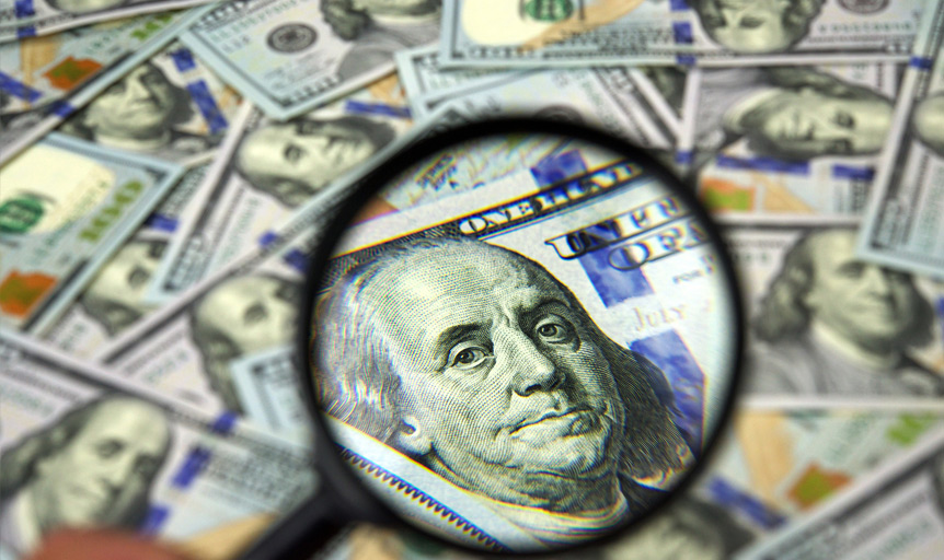 Benjamin Franklin $100 dollar Bill Batman