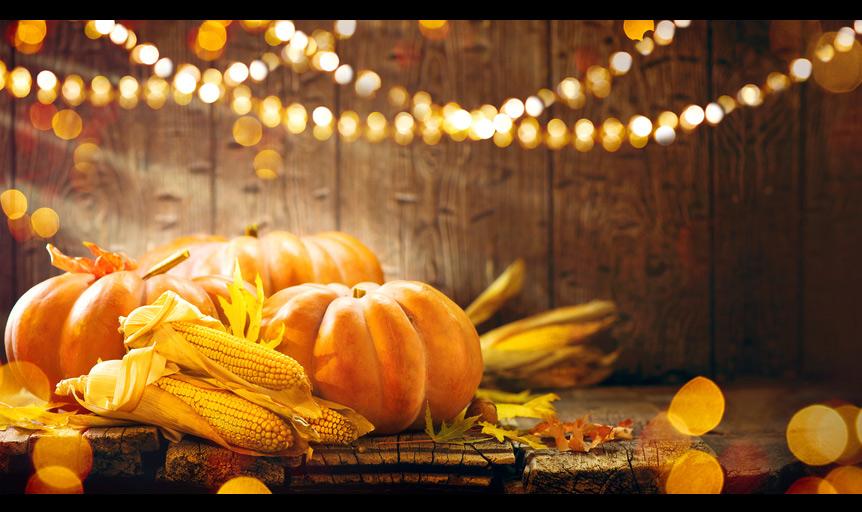 pumpkin corn harvest Thanksgiving chef Daniel Orr