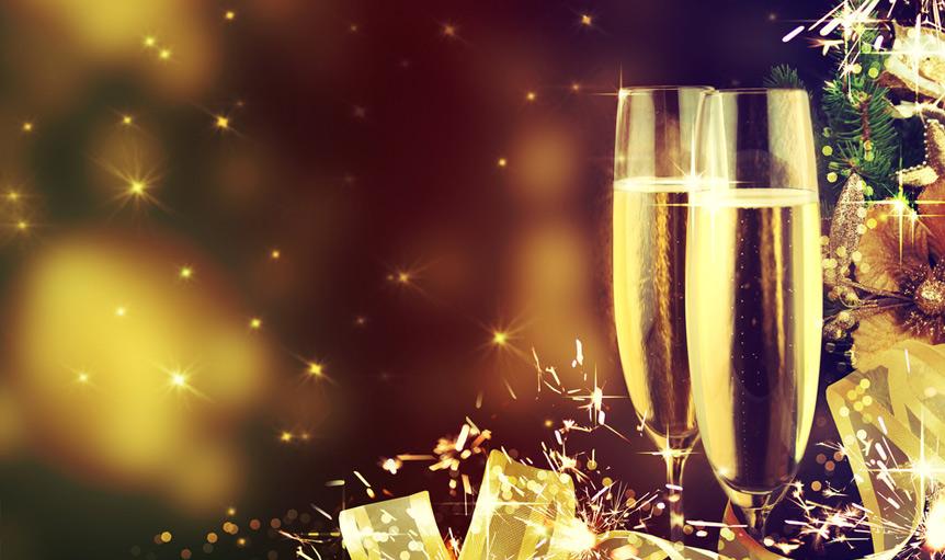 champagne festive holiday Christmas Robuvit Pescatore