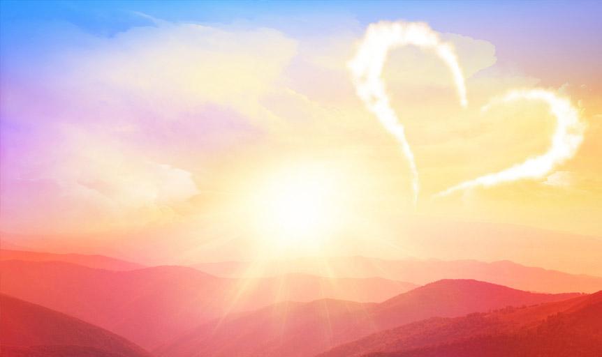 Path to Love Deepak Chopra heart cloud danielle lin