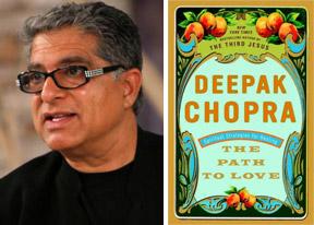 portrait book Deepak Chopra Path to Love