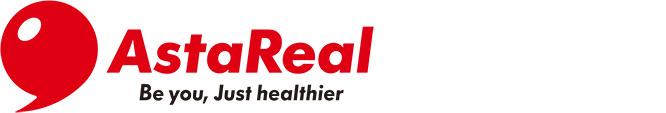 AstaReal logo wide