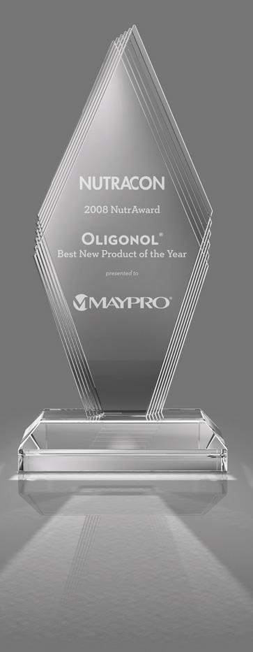 Maypro Oligonol graphic award science
