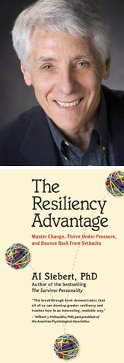 Al Siebert portrait book resiliency