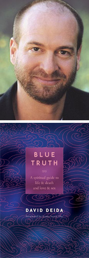David Deida portrait book Blue Truth