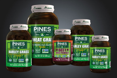 wheat grass pines product