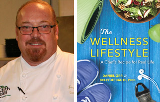 Wellness Lifestyle Chef Daniel Orr portrait and book