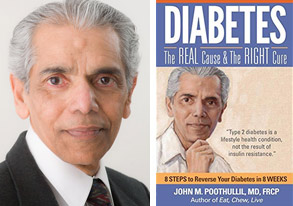 John Poothullil Diabetes real cause right cure