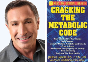 portrait book James LaValle Cracking the Metabolic Code